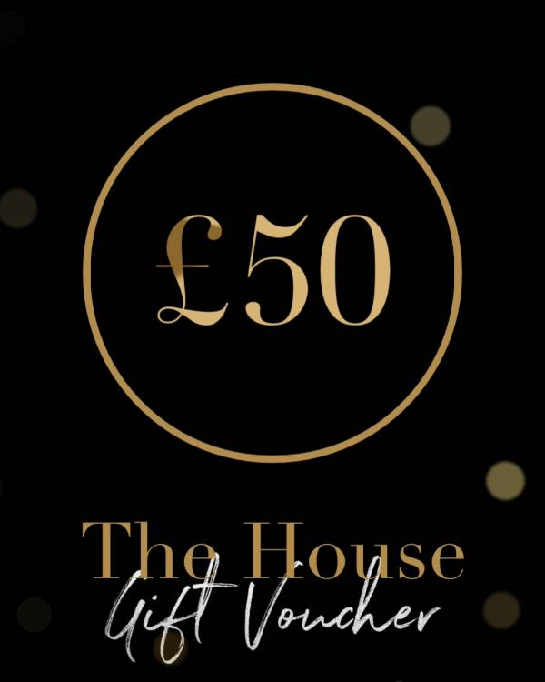 £50 Gift Voucher - The House Spa